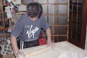 そば粉でパン作り