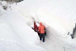 除雪が最優先