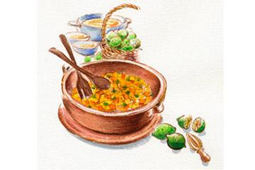 季節の料理「かぼちゃ」を使って