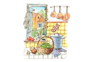 季節の料理「いんげん」を使って