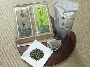健菜玉緑茶&水出し煎茶