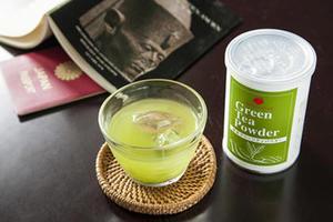 水出し煎茶 & グリーンティーパウダー