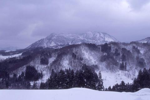 尾神の雪景