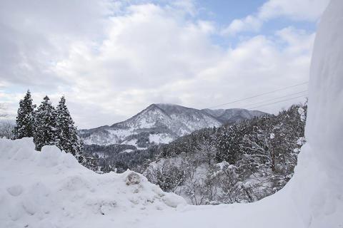 吉川最奧の集落・川谷の冬