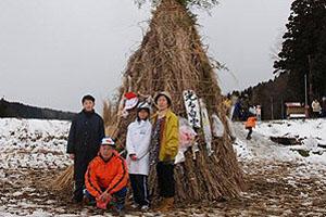 吉川での正月行事
