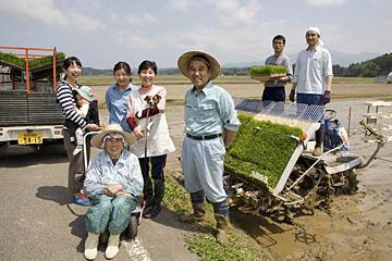 「味を極める」を重ねて25年。 健菜の米作り、始まる。