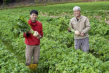 豊かな自然の中で育てる 安心でおいしい野菜