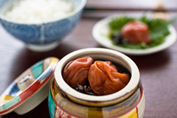 健菜の漬け梅セット