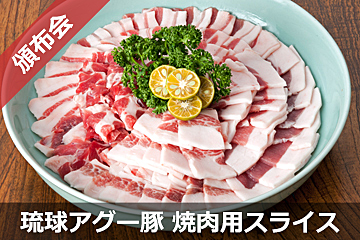 琉球アグー豚 焼き肉用スライスコース